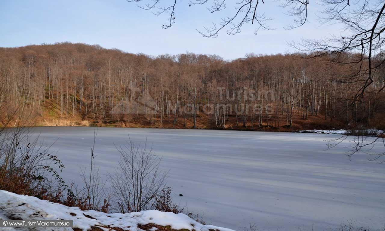 Lacul Bodi Baia Mare iarna