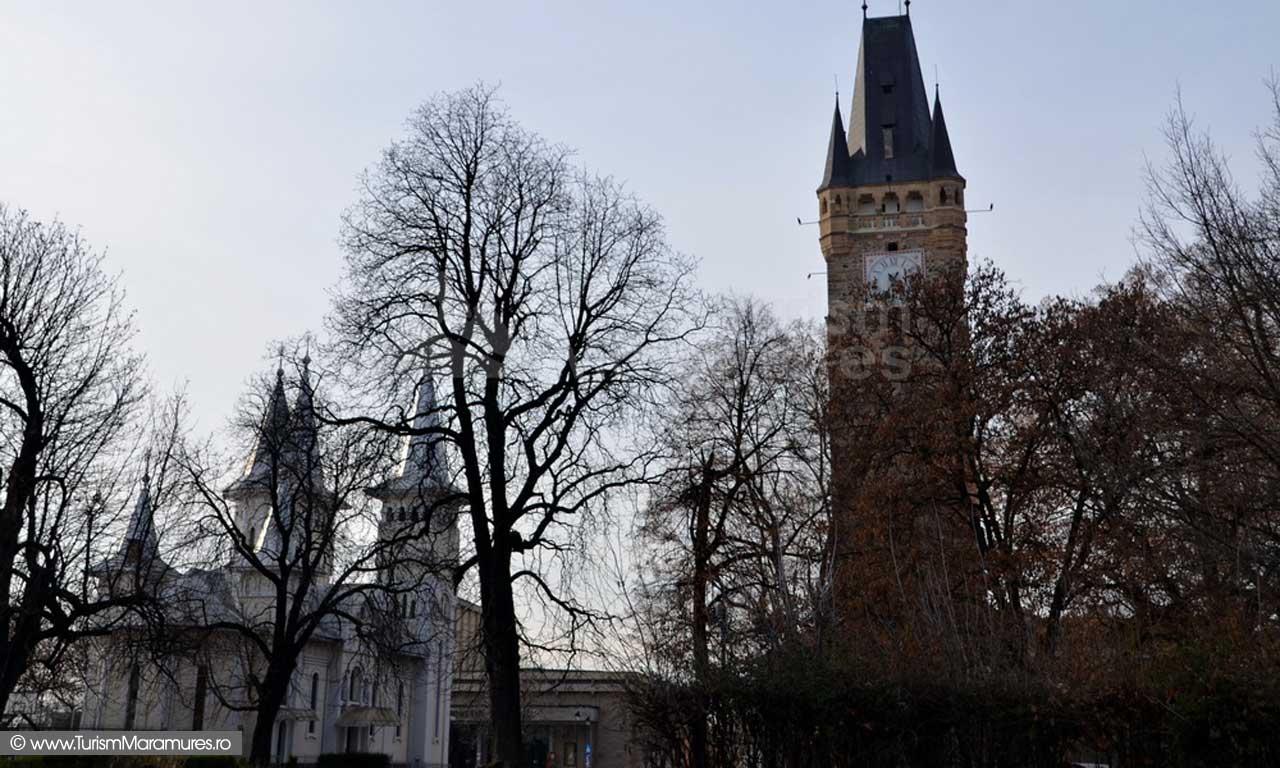 Turnul Stefan si biserica Sf. Nicolae_Baia Mare