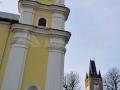 Baia Mare_ Biserica romano-catolica si Turnul Stefan