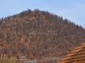 Dealul Crucii si biserica Manastirii Sfanta Maria