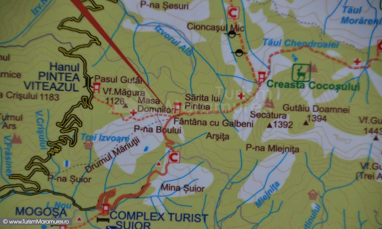 Harta-turistica