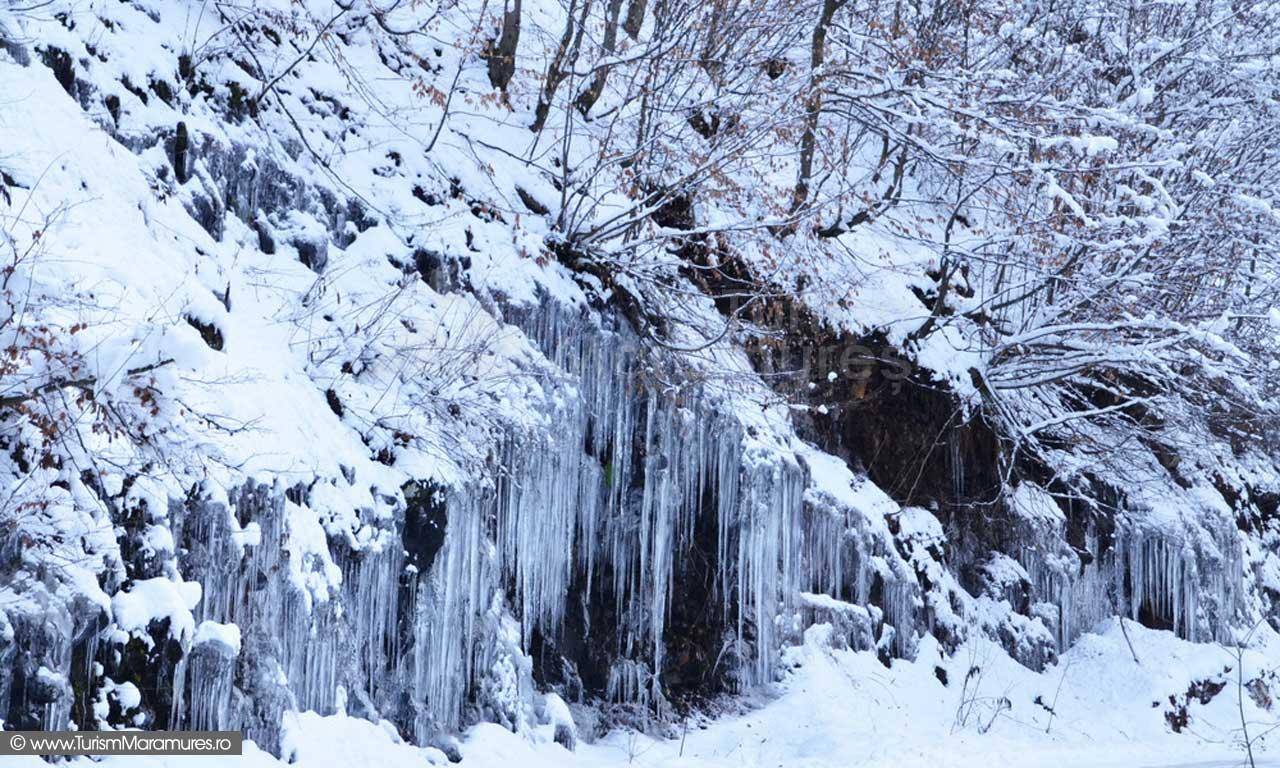 Valea Sturului Maramures iarna