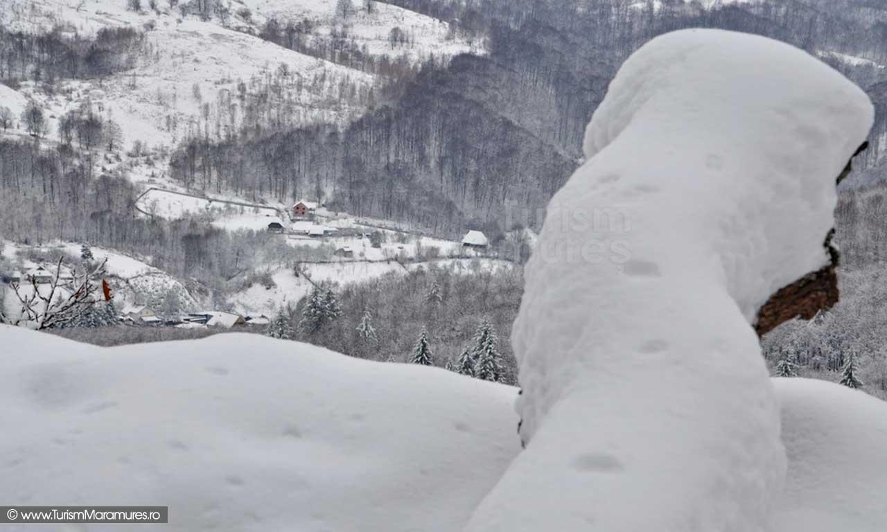 Nistru Maramures iarna