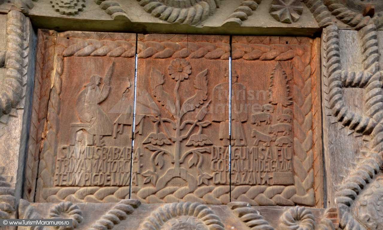 29_Muzeul-Satului-Maramuresean_basorelief-poarta-maramureseana