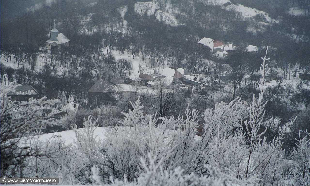 Durusa-Maramures-iarna