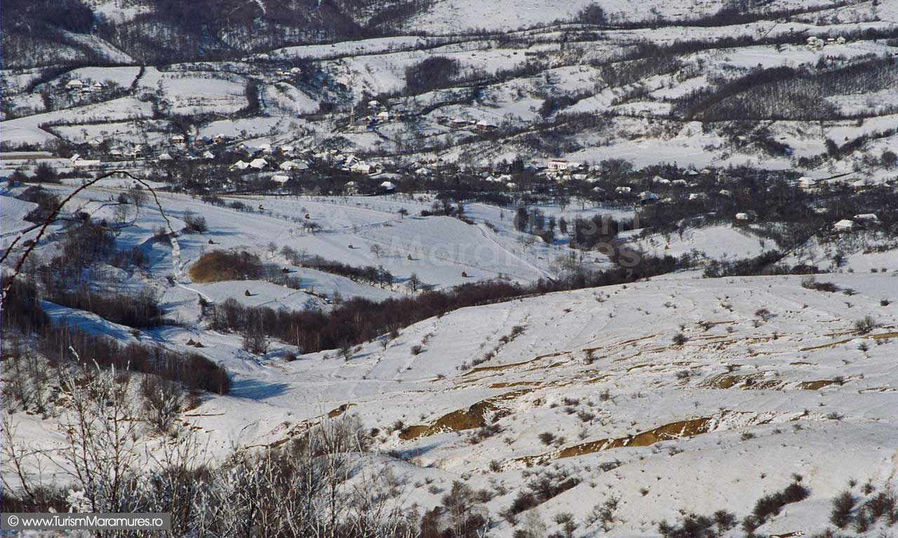 Fericea-Maramures-iarna