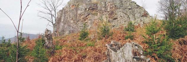 Cavnic: Pe Piatra Mălnașului din Gutâi