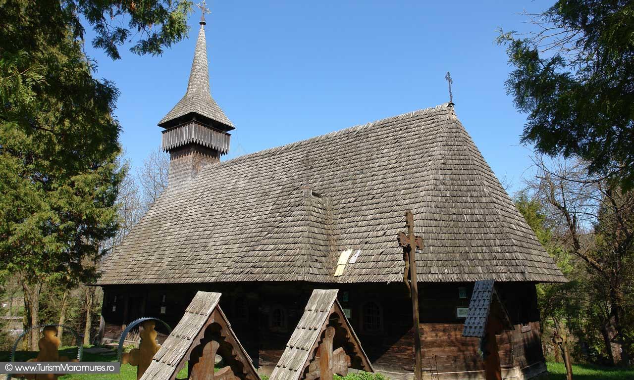 Biserica de lemn din satul Hoteni