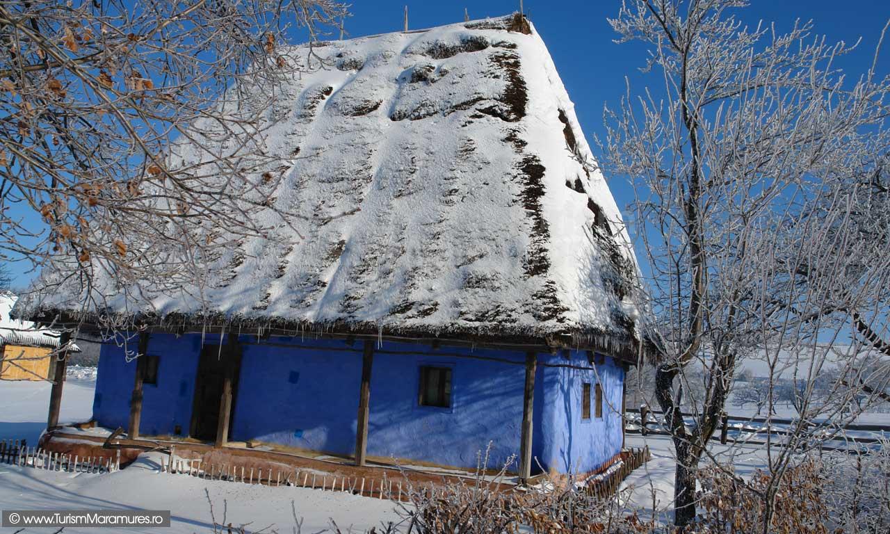 Casa traditionala de Chioar, Maramures
