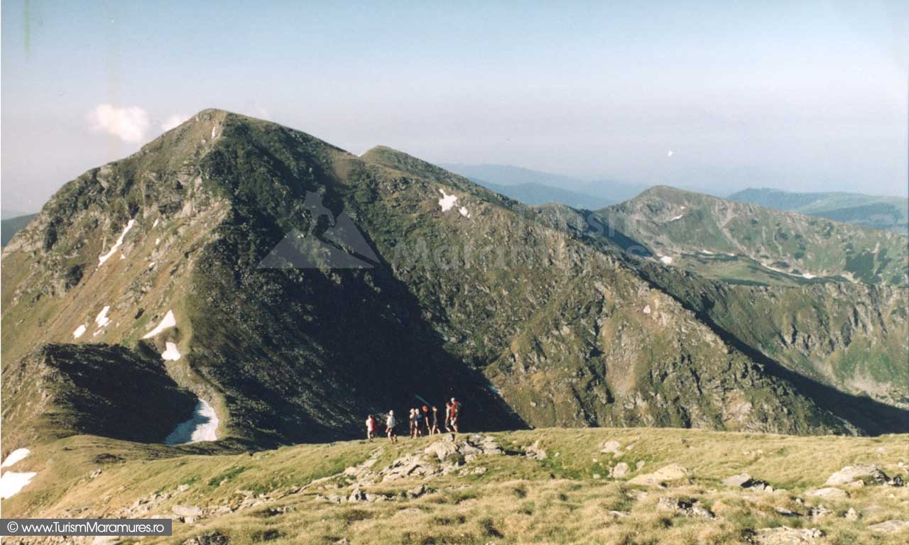 Muntii Rodnei-varfurile Buhaiescu Mare si Buhaiescu Mic