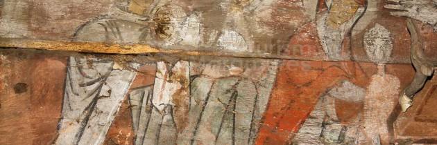 BISERICI DE LEMN DIN MARAMUREȘ – La Biserica de lemn Sfinții Arhangheli Mihail şi Gavril din satul Mănăstirea, comuna Giuleşti