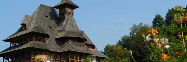 BISERICI DE LEMN DIN MARAMUREȘ – La Mănăstirea Bârsana