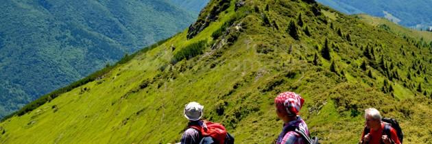 Munții Maramureșului (Crasna): Pe Muntele lui Șerban și Pop Ivan