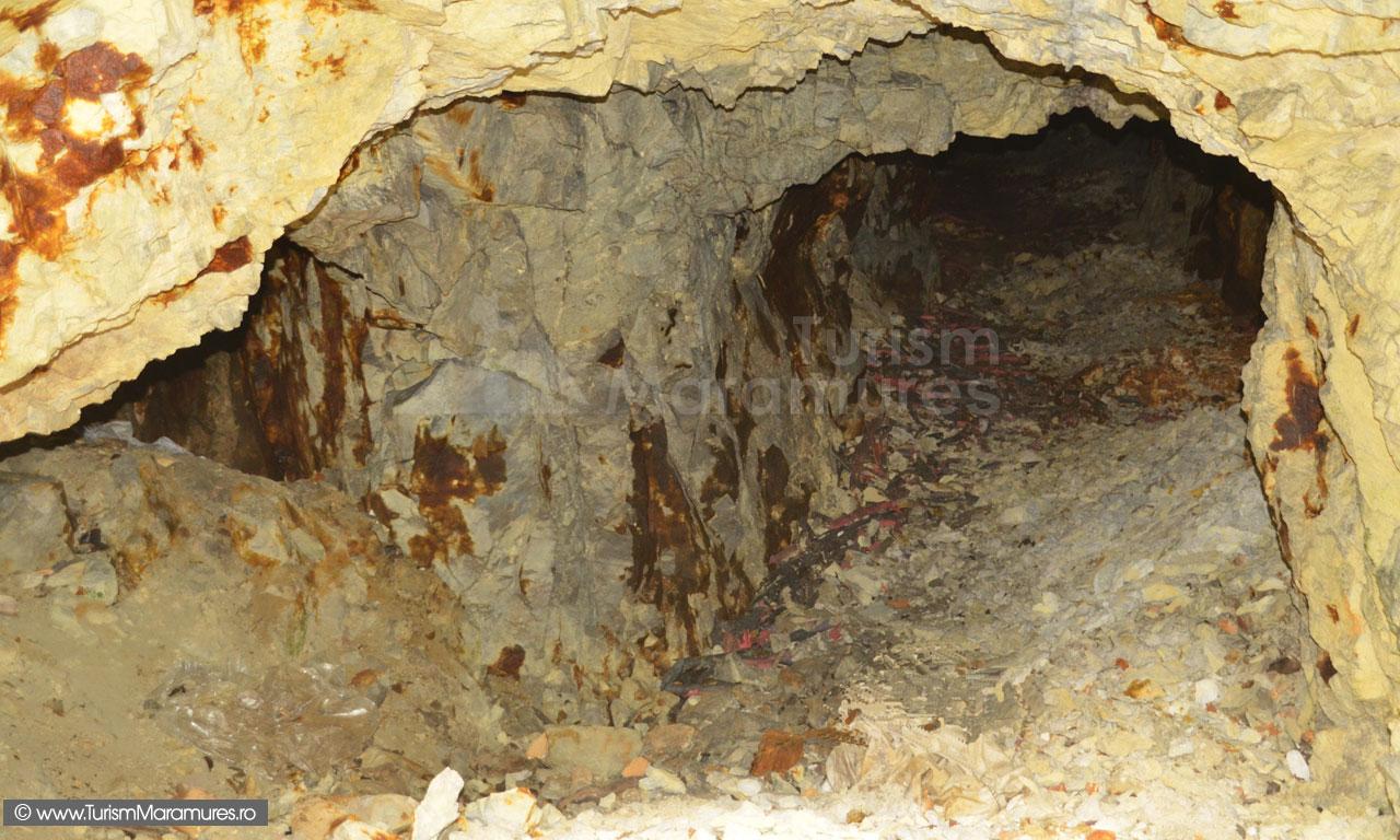 Abataj minier pe valea Neamtului, zona Baia Mare