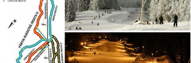 Tarife pârtii Roata Cavnic 2014 – 2015: Vezi cât costă abonamentul pentru o zi de schi