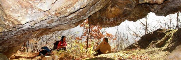 La Peștera lui Pintea și Bulbucii din Şurdeşti, toamna