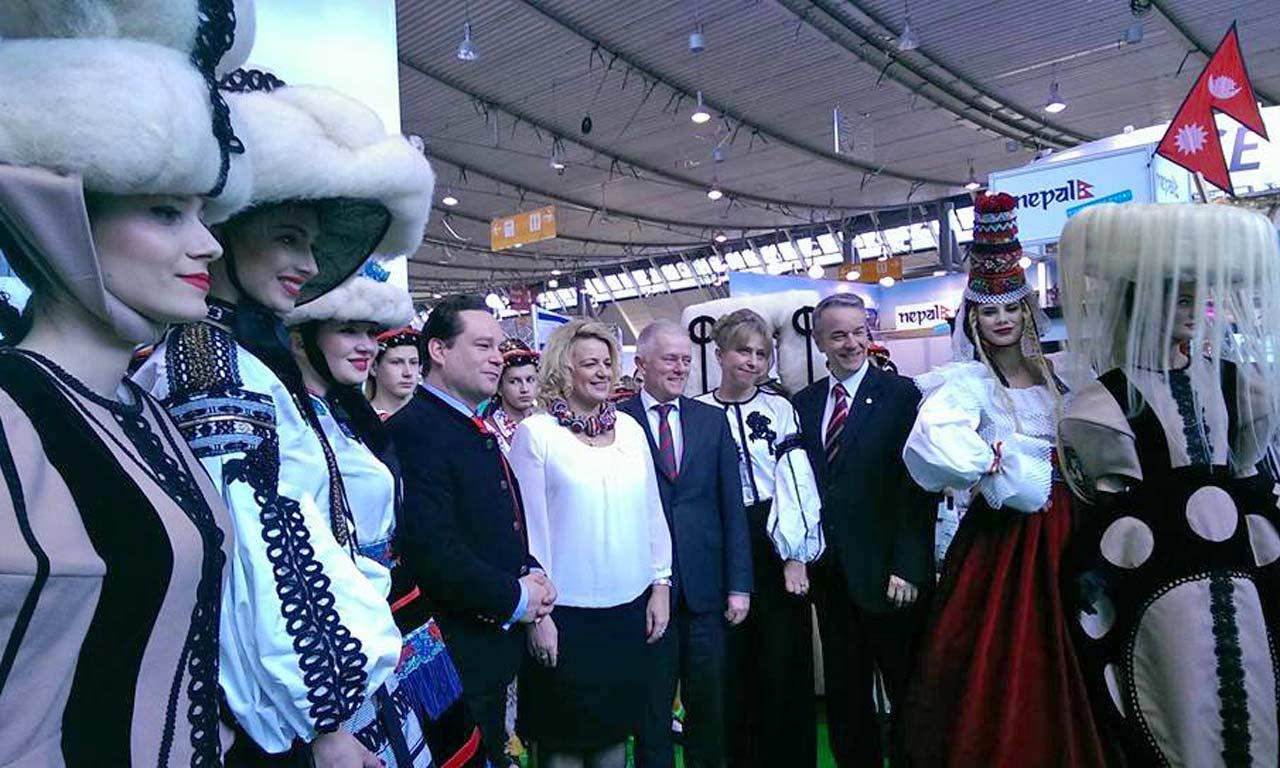 Targul de Turism din Stuttgart - Delegatia Romaniei