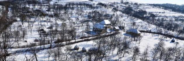 În Țara Chioarului, iarna, prin Hovrila-Posta-Săpâia