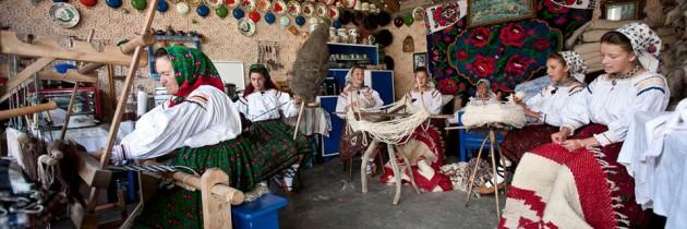 Tehnica tradițională de realizare a covoarelor din Maramureș, inclusă în patrimoniul UNESCO