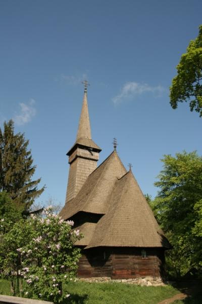 Biserica din Dragomirești - Muzeul Național al Satului