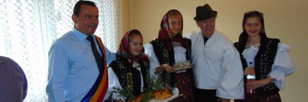 VIDEO: Actorul Harvey Keitel este cetățean de onoare al comunei Leordina