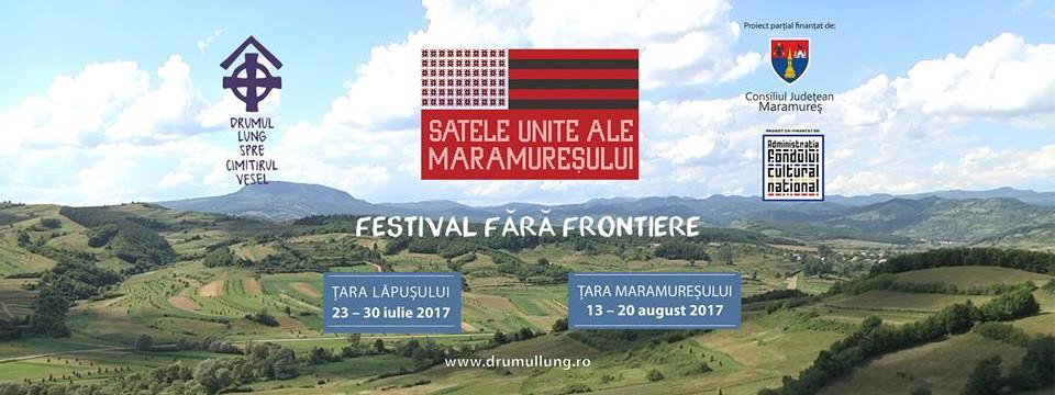 Drumul Lung spre Cimitirul Vesel începe la Târgu Lăpuș, în 23 iulie