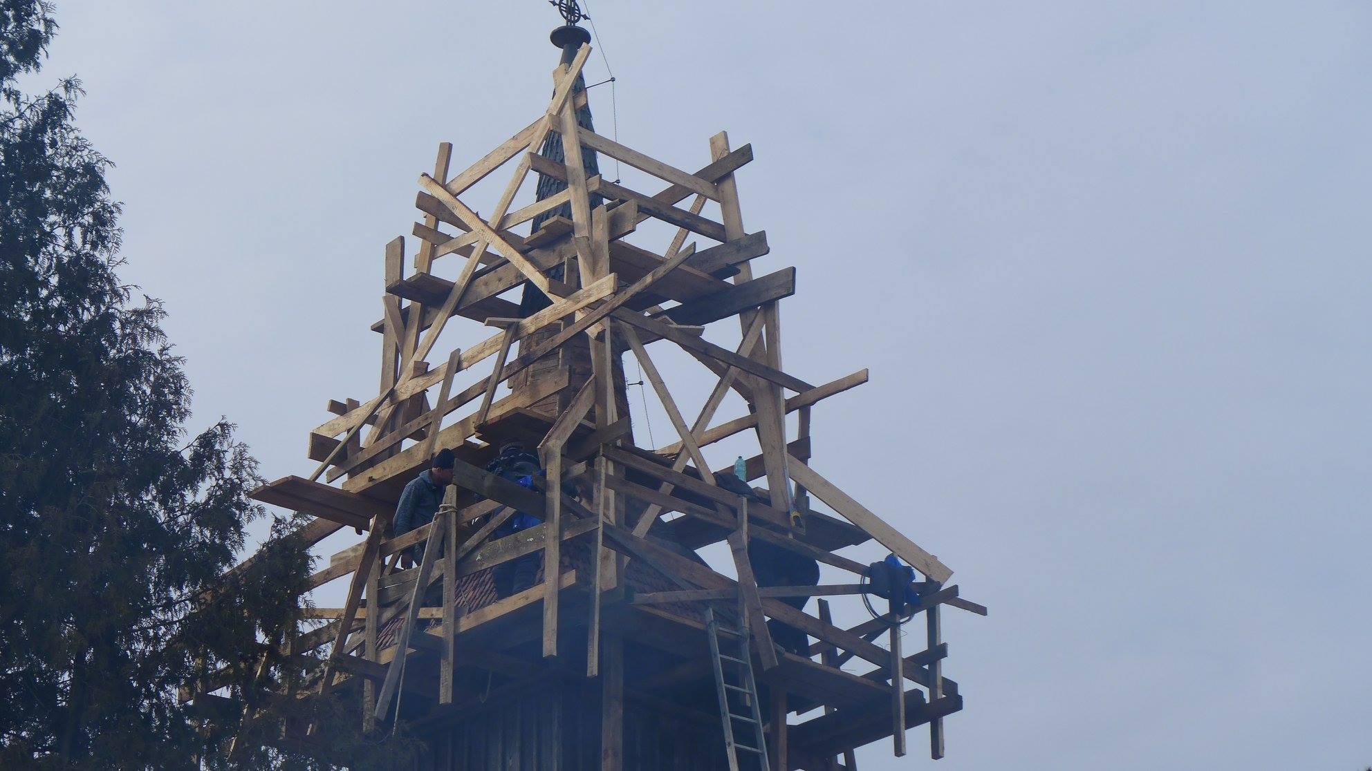 Ambulanta pentru Monumente - biserica Breb