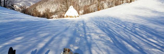 Baia Sprie – Șaua Poca – Chiuzbaia – Groapele Chiuzbăii, iarna