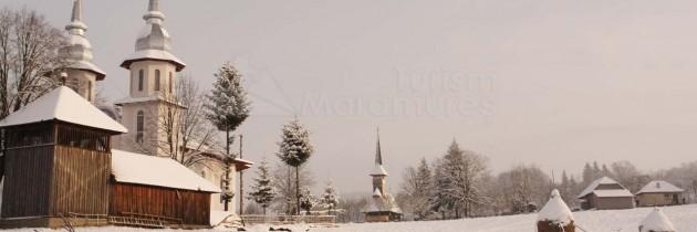 În Berința și Cărpiniș, iarna