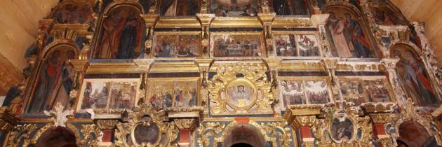 Biserica de lemn din Cărpiniș – iarna